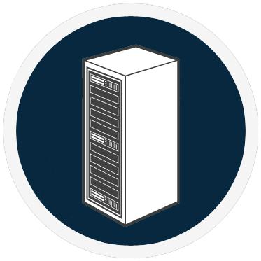 Baies et serveurs informatiques