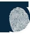 Image sécurité et empreinte digitale